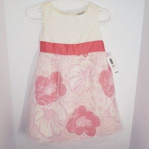 Girl's 2T Old Navy Tulle Floral Dress NEW